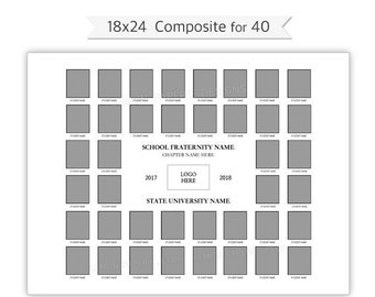 18x24 Class Composite Template Psd Photoshop Template Etsy
