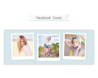 Facebook Timeline Cover, Photoshop Template - FT224 - INSTANT DOWNLOAD
