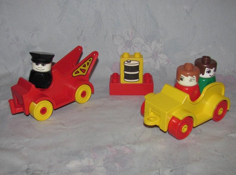 Verbazingwekkend Vintage Lego Duplo Set 2644 Garage/Service Station | Etsy HU-13