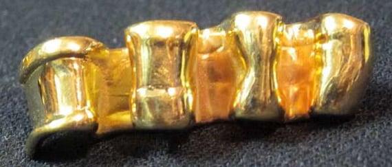 Ciner Gold Brooch