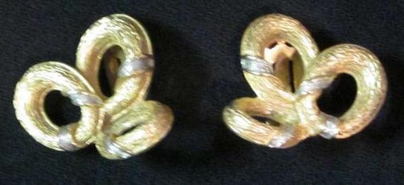 Ciner Gold Earrings