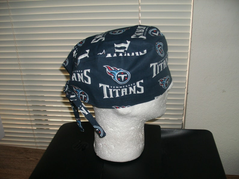 Surgical Headwear Scrub Cap Titans Chemo Cap Tn