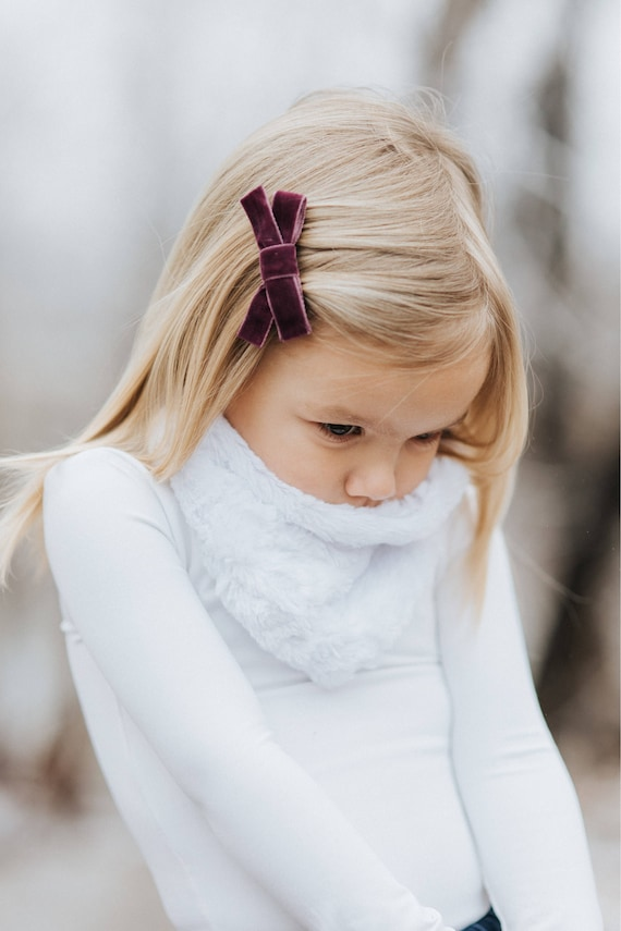 Kids Infinity Scarf - Minky Scarf - Snuggle Scarf - Christmas Scarf - Soft Scarf - Christmas Outfit - Warm Scarf - Holiday Card Photos