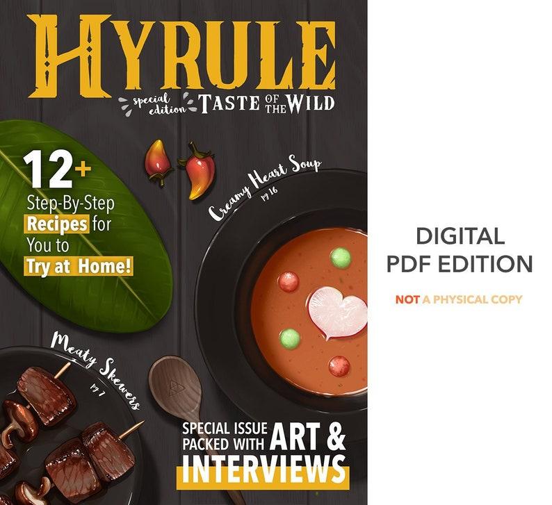 HYRULE Taste of the Wild DIGITAL ZINE Zelda botw Breath of image 0