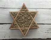 Vertical Star of David Shaped Perfect for Succulents
