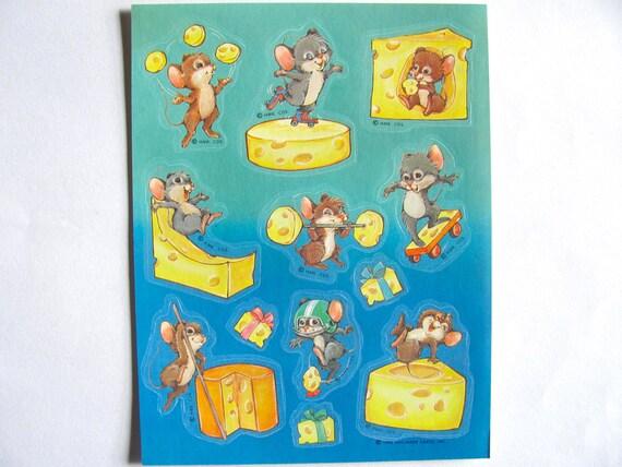 Vintage 1980s Rare 3M Cheese Sticker
