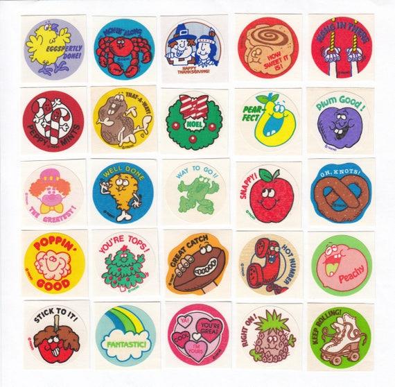 Rose Vintage Scratch /& Sniff Sticker Gordy