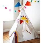 Rainbow play tent  teepee