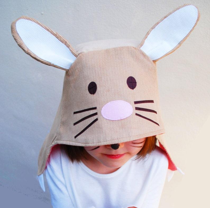Bunny rabbit kids hat image 0