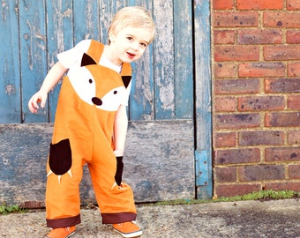 costume enfant fox salopette salopettes