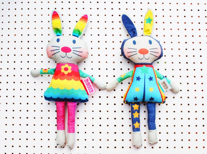 Bunny Doll craft kit personalised rag doll image 0