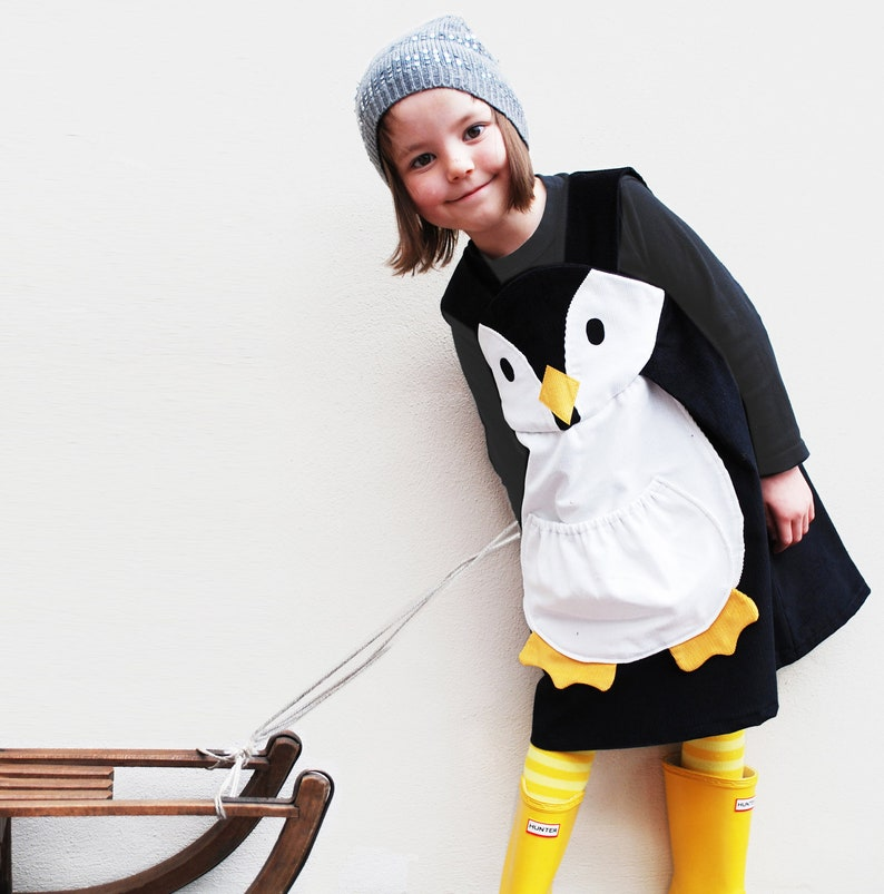 Penguin girls dress up  penguin toddler dress Christmas image 0