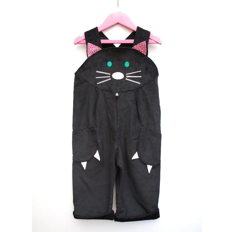 Cat Dungaree Kids Dress up image 0