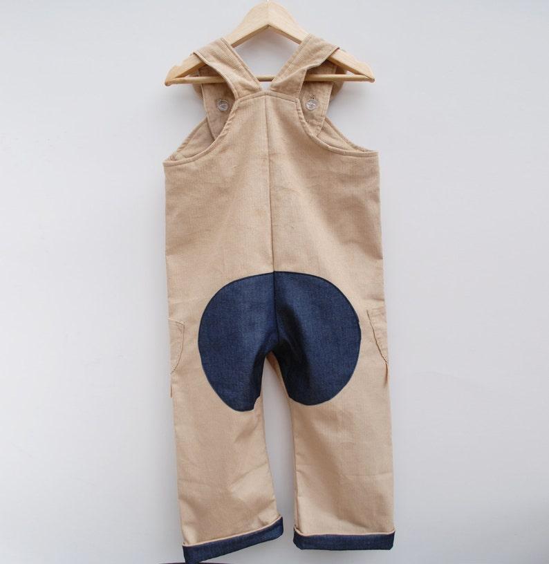 Bunny Rabbit dungaree overalls for children.