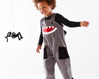 Requin salopette pour enfants Halloween robe salopette par Wild Things