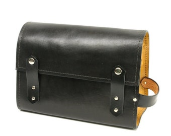 Black and Yellow Dopp Kit - CLEARANCE -