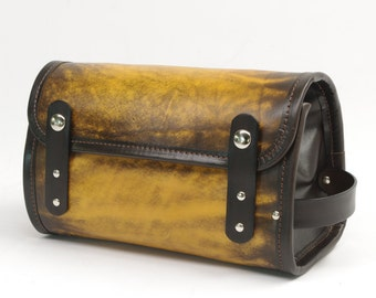 Leather Travel Kit / Dopp Kit
