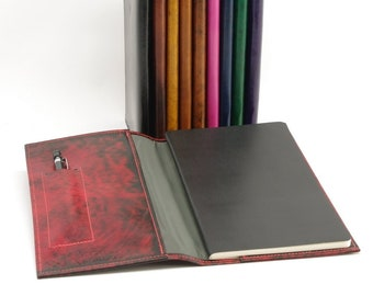 Custom Leather Cover for Journals, Books and Planners