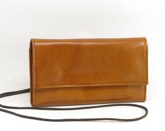 Leather Clutch Wallet Purse