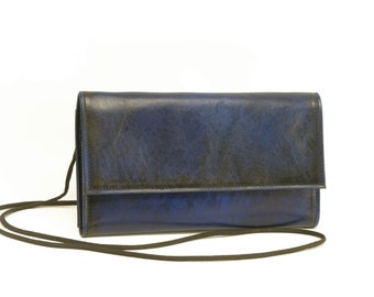 Leather Clutch Wallet Purse