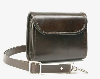 Leather Hip Pack / Cross Body Bag