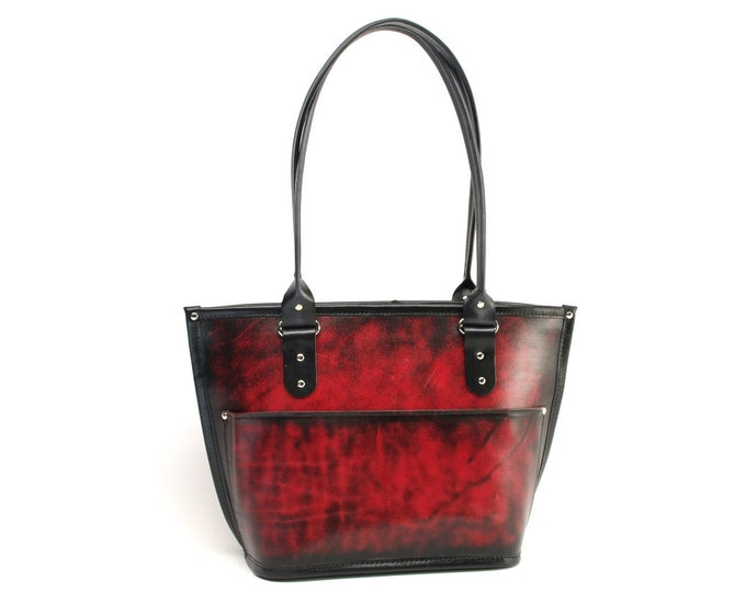 Featured listing image: Medium Leather Tote Bag v2