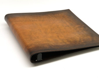 1 Inch Leather 3 Ring Binder Notebook - CLEARANCE -