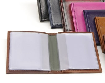 Leather Card / Photo Wallet