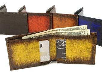 Minimalist Leather Bifold Wallet