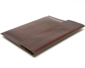 Executive Leather Portfolio for Letter Size Folders and Sheets - Custom Sizes Available