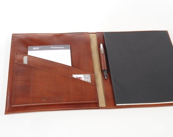 Executive Leather Journal - For Moleskine Cahier XXL (8.5x11)
