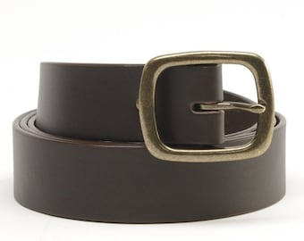 1 1/2 inch Bridle Leather Belts