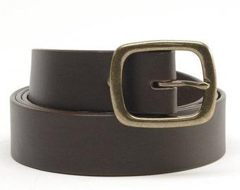 Bridle Leather Belts