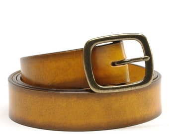 1 1/2 inch Bridle Leather Belt