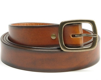 1 1/4 inch Bridle Leather Belt