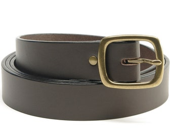 Leather Belts & Straps