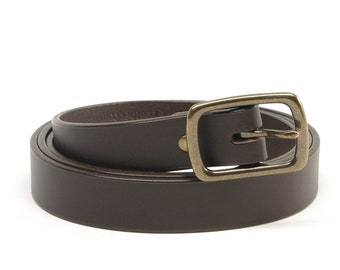 1 inch Bridle Leather Belt