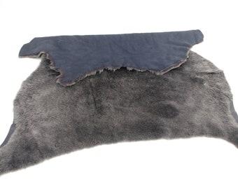 Sheepskin Garment Shearling - Whole Hide - Blue