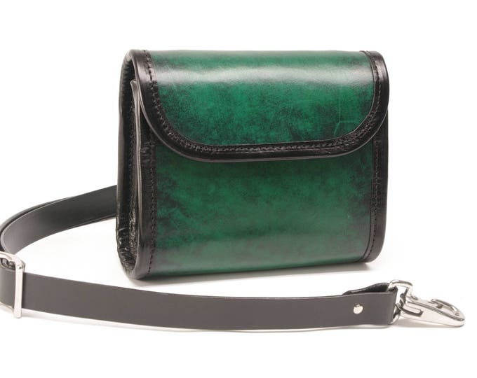 Featured listing image: Leather Hip Pack / Cross Body Bag