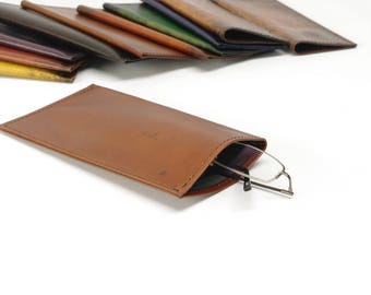 Light Brown Glasses Case (Large) - CLEARANCE -