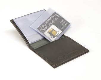 Leather Photo Wallet
