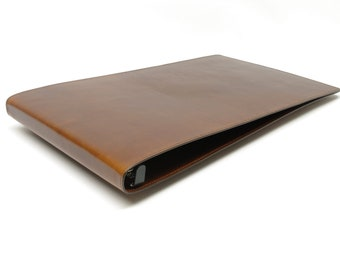 Leather 3 Ring Binder Notebook - Letter and Ledger Sizes Available