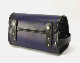 Leather Travel Kit / Dopp Kit