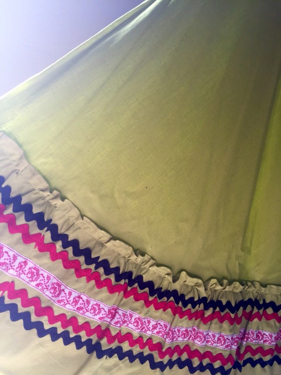 Fiesta Skirt Hand Made New Mexico So Hollywood 195