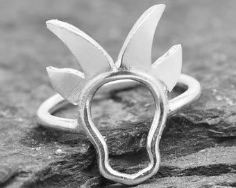 Sheep ring, Goat Ring, Lamb Ring, 925 sterling silver, animal ring, Sheep jewelry, kids ring, kids jewelry, Bridesmaid Gift, Bridesmaid Ring