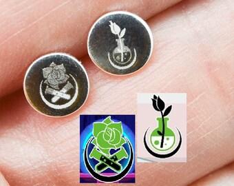 Photo Earrings, Photo Jewelry, Engraved Earrings, Personalized Jewelry, Bridesmaid Gift, Best Friend, Sisters, Stud Earrings