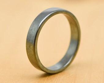 wedding band, wedding ring, engagement ring, mens ring, mens wedding band, man wedding ring band, men promise ring, men ring, Oxidized Ring