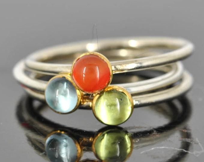 Carnelian ring, gemstone ring, stacking ring, july birthstone ring, personalized ring, bridesmaid ring, bridesmaid gift, best friends ring