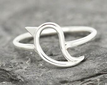 Bird Ring, Bird Jewelry, Bird Accessories, 925 Sterling Silver, Animal Ring, Animal jewelry, Kids Ring, Kids Jewelry