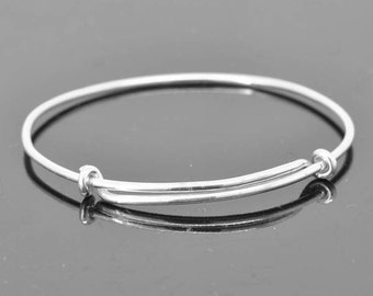Adjustable Bangle, adjustable Jewelry, adjustable Bracelet, Sterling Silver Bangle, Sterling Silver Bracelet